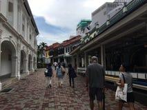 Stadt Singapurs China lizenzfreies stockbild