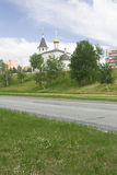 Stadt Skizzen und peyzazhi. Stockfotografie