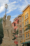 Stadt-Skulptur Lizenzfreies Stockbild