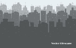 Stadt-Skyline   Stockfotografie