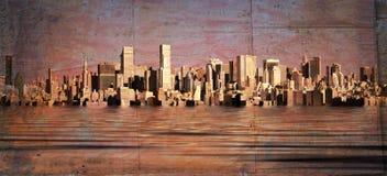 Stadt-Skyline Stockbilder