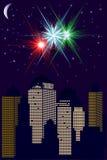 Stadt-Skyline Lizenzfreie Stockfotos