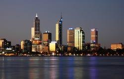 Stadt-Skyline Stockfoto