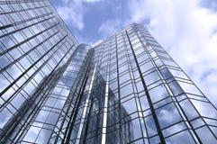 Stadt skyscrapper lizenzfreies stockfoto