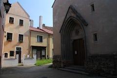 Stadt Slavonice, südwestlich Morays stockbilder