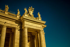 Stadt St. Peter Vatican Stockfotos