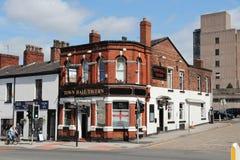 Stadt Stockports Großbritannien stockbild