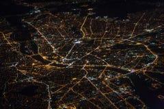 Stadt-Straßennetz von Budapest stockfoto