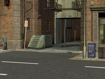 Stadt-Straßen Stockfotos
