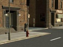 Stadt-Straßen Stockfoto