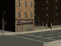 Stadt-Straßen Lizenzfreie Stockfotos