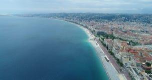 Stadt-Strand-Ansicht stock video footage