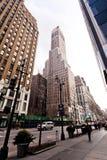 Stadt streetlife auf 7. Allee in New York Stockfotografie