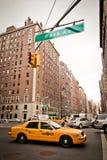 Stadt streetlife in New York Stockbild