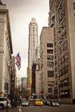 Stadt streetlife in New York Stockbilder