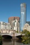Stadt-Szene, Melbourne, Victoria, Australien Lizenzfreies Stockfoto