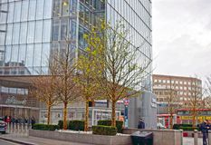 Stadt-Szene von London Kent lizenzfreies stockfoto