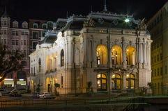 Stadt-Theater, Karlovy Vary, Tschechische Republik lizenzfreie stockfotografie