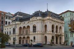 Stadt-Theater, Karlovy Vary, Tschechische Republik lizenzfreies stockfoto