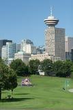 Stadt und städtischer Park Stockfotografie