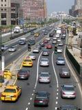 Stadt-Verkehr lizenzfreie stockfotografie