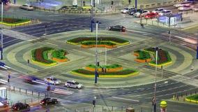 Stadt-Verkehrs-Zeitspanne Warschau