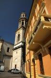Stadt Verona - typische Architektur Lizenzfreie Stockfotos