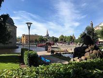 Stadt von Ã-rebro 4 Stockfotografie