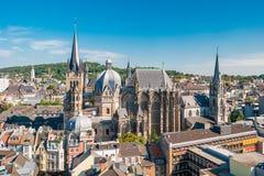Stadt von Aachen, Deutschland Lizenzfreie Stockbilder