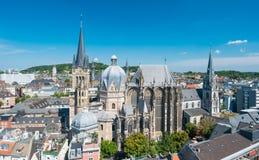 Stadt von Aachen, Deutschland Stockfoto
