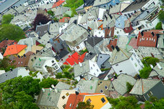 Stadt von Aalesund Stockfotografie