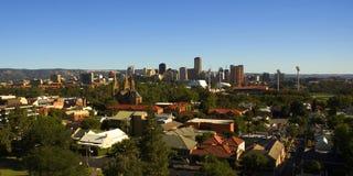 Stadt von Adelaide Stockbild