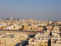 Stadt von Al-Chubar stockbilder