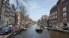 Stadt von Amsterdam lizenzfreie stockbilder