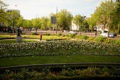 Stadt von Amsterdam Stockbild