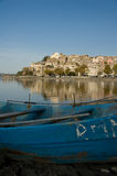 Stadt von Anguillara Stockbilder