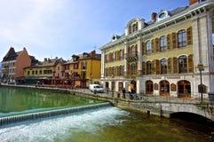 Stadt von Annecy Lizenzfreie Stockbilder