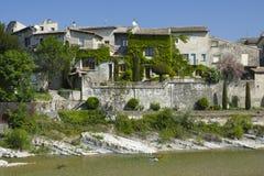 Stadt von Aouste sur Sye, Drome Lizenzfreie Stockfotografie