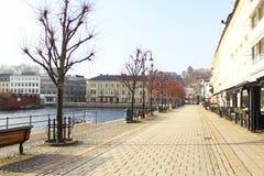 Stadt von Arendal Norwegen Stockbilder