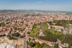 Stadt von Arezzo in Toskana - Italien lizenzfreies stockfoto