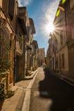 Stadt von Arles stockfoto