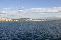 Stadt von Athen Lizenzfreies Stockbild