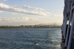 Stadt von Athen Stockbild