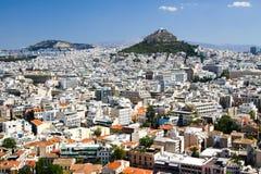 Stadt von Athen Stockfoto