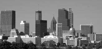 Stadt von Atlanta GA Stockfotos