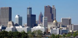 Stadt von Atlanta Georgia Stockfotografie