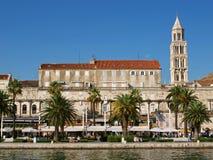 Stadt von Aufspalten-Kroatien Stockfotos