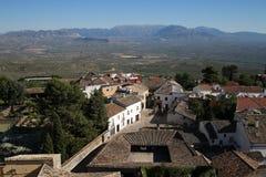 Stadt von Baeza in Jaen Andalusien Lizenzfreie Stockbilder