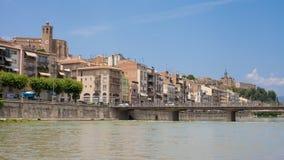 Stadt von Balaguer lizenzfreies stockbild