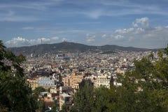 Stadt von Barcelona Lizenzfreies Stockfoto